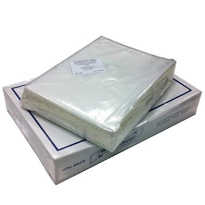 Clear Plastic Polythene Bags Heavy Duty 500 Gauge