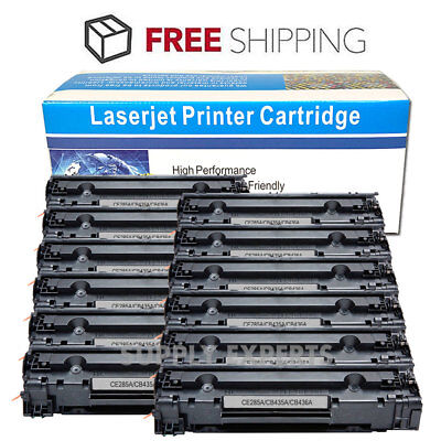 12 Pack CE285A Toner Cartridge For HP 85A LaserJet P1102 P1102w M1212nf M1217nfw