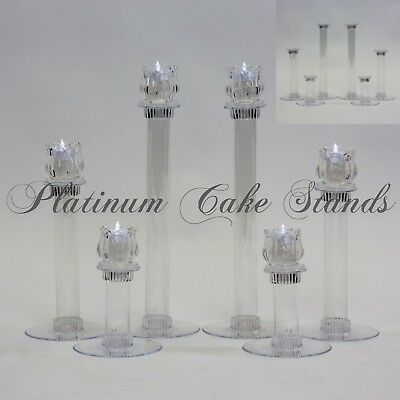 Cake Stand Candle Set 6 Tier