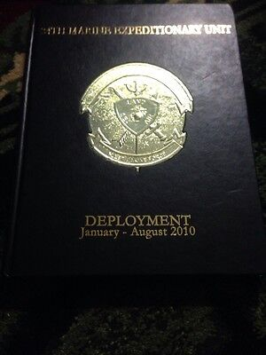 RARE 24th MEU Marine Expeditionary Deployment January August 2010 Book