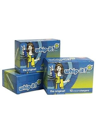 CR101, N2O 8 GRAM WHIP IT WHIPPED CREAM CHARGERS -  360 units