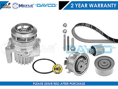 For Audi A3 8P 03- 2.0 Tdi 16V 140Bhp Bkd Dayco Timing Cam Belt Kit Water Pump