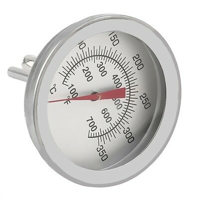 Stainless Steel Cooking Oven Thermometer Probe Thermometer Food Meat Gauge UL