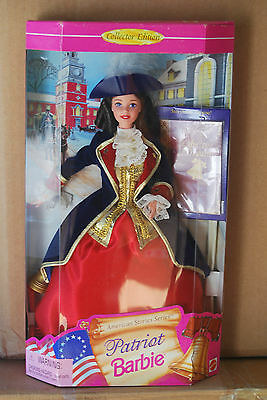 Patriot Barbie Doll, American Stories Collection, Mattel # 17312, 1997, Nrfb