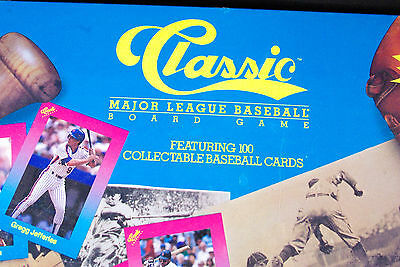 "1989 VINTAGE NEW ""Classic Major League Baseball"" Board Game - New Sealed"