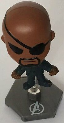 Blip Toys Marvel Avengers Series 1 Mystery Mini Nick Fury /w Stand Opened
