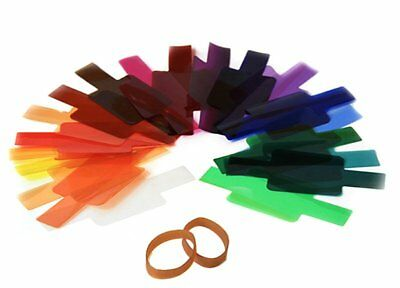 20 Color Photographic Color Gels Filter for Sony Sigma Nikon Yongnuo DSLR Flash