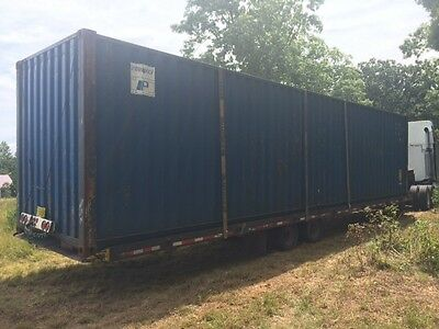 40' HC shipping container storage container conex box in Miami, FL