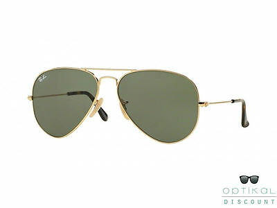 RAY BAN RB3025 181 large metal occhiali da sole AVIATOR sunglasses sonnenbrille