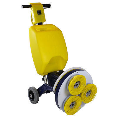 "New Cimex 19"" 3 HEAD HARD FLOOR SCRUBBER CR48SC"