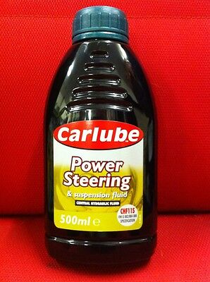 Green Power Steering Oil Fluid (Not Red) Central Hydraulic Fluid