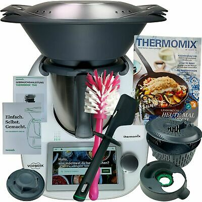thermomix mixtopf f r tm5 incl schmetterling wie neu. Black Bedroom Furniture Sets. Home Design Ideas