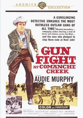 GUNFIGHT AT COMANCHE CREEK (Audie Murphy)Region Free DVD - Sealed