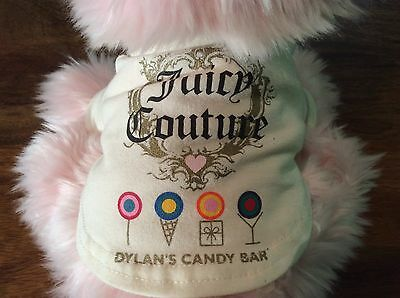 juicy couture pink plush Scottish terrier 10''x8''