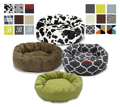 SNOOZA CUDDLER Dog Bed Cushion Mat Donut Round Pet Bed Indoor Dog Bed SMALL