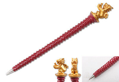 Hot Harry Potter Gryffindor 19cm Ball Pen Resin Material New In Box Gift