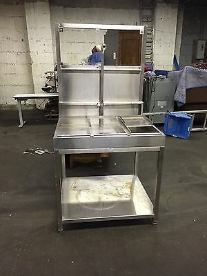 Stainless Steel Animal Dog Wash Table Sink Commercial Kitchen