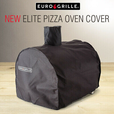 【20%OFF】EuroGrille Deluxe Pizza Oven Cover - Elite Fitted Weather Protector