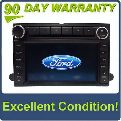 Ford Edge Navigation Gps Radio Stereo  Disc Changer Aux Mp Cd Player
