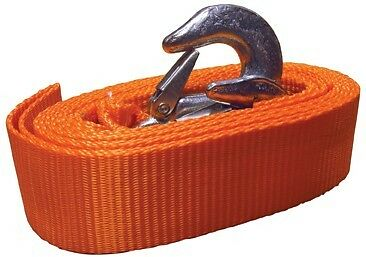 Emergency Tow Strap 3.5m with Hooks 6.5 Ton