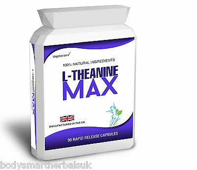 Theanine 200mg Capsules 98% L-Theanine Max from Green Tea