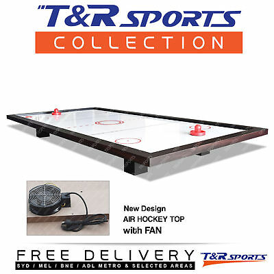 New Air Hockey Top With Fan For 8Ft Pool Billiard Table Free Post*