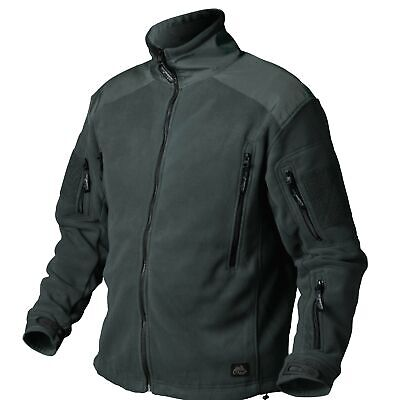 Helikon Tex Liberty Heavy Fleece Jacket Jacke Jungle Green Outdoor - 390g/m2