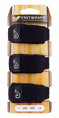 Gruv Gear FretWraps String Muters (3-Pack) Small Black
