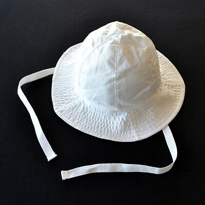 100% CERTIFIED ORGANIC COTTON SUN HAT BOYS / GIRLS SUNHAT WHITE s 000 00 0 1 2