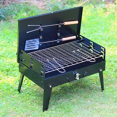 Folding Picnic Camping Charcoal BBQ Grill Outdoor Garden barbecue Grill Tool