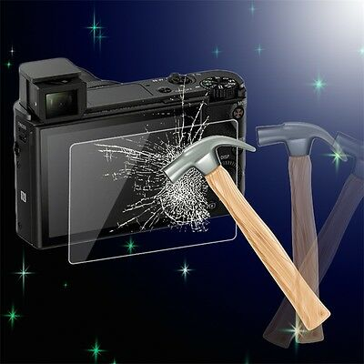 Tempered Glass Screen Protector Cover for Sony RX-100/RX-100-2/RX-100-3/A99 JL