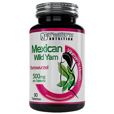 Yamswurzel 90 Tabletten je 500mg Wild Yam / Die preiswerte Alternative
