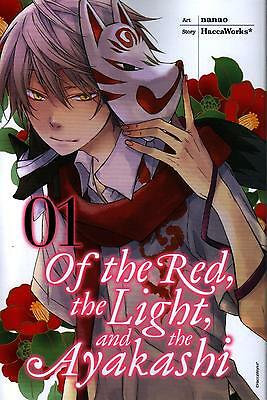 Of The Red, The Light, And The Ayakashi  Volume 1  Nanao    Manga Pbk  NEW