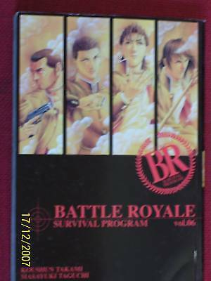 BATTLE ROYALE - N° 6- survival program- DI:KOUSHUN TAKAMI- MANGA PLAY PRESS