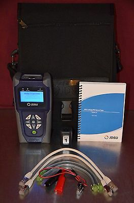 JDSU LanScaperPRO NT800 Cabling and Network Tester Kit with Accessories