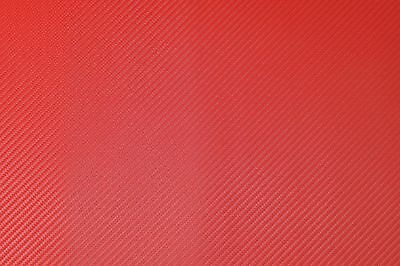 Carbon Fiber - Fire Red, Marine-Grade Vinyl Leatherette fabric