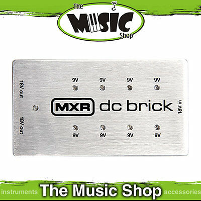 New MXR M237 DC Brick Power Supply For Up To 10 Effects Pedals - 9v & 18v