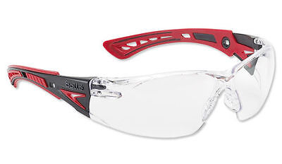 Bolle RUSH+ Plus Safety Glasses - RUSHPPSI - Clear Lens