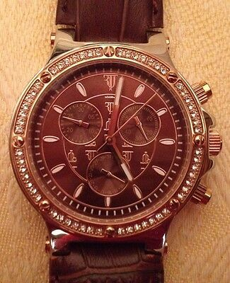 Timepieces By Randy Jackson Ladies Chronograph Swiss Mov't Watch