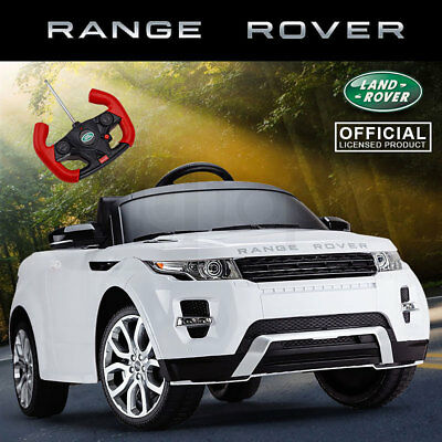 New Ride-On Car Licensed RANGE ROVER EVOQUE Kids Toy 12v Electric Battery