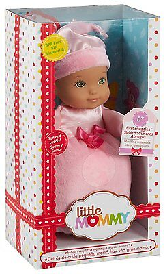 Little Mommy First Snuggles Doll, Pink My First Baby Doll New