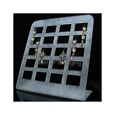 Frosted Rope Net Retail Jewelry Display Earring Showcase Stand FR131