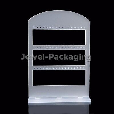 2 x Frosted Fancy Earring Fashion Jewelry Retail Store Display Stand