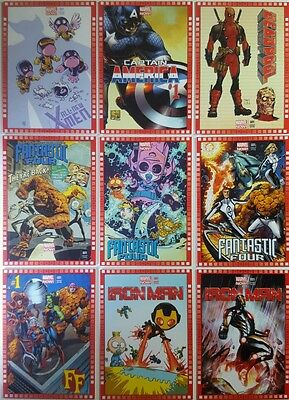 MARVEL NOW ! 2013 CUTTING EDGE VARIANT COMIC COVER Card SINGLES choose