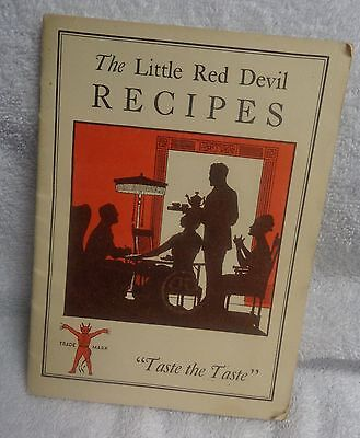 Underwood The Little Red Devil Recipes Paper Booklet