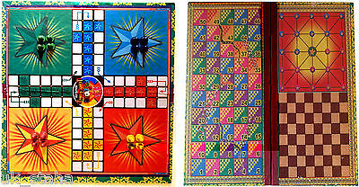 Ludo, Snakes&Ladders Traditional Board Game Gift For Adult Children 13x13 inch