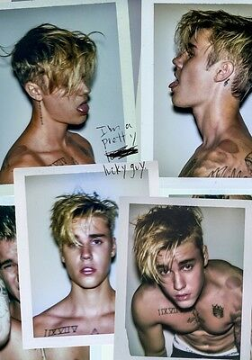 JUSTIN BIEBER Purpose PHOTO Print POSTER Sorry What Do You Mean? Halsey Tour 006