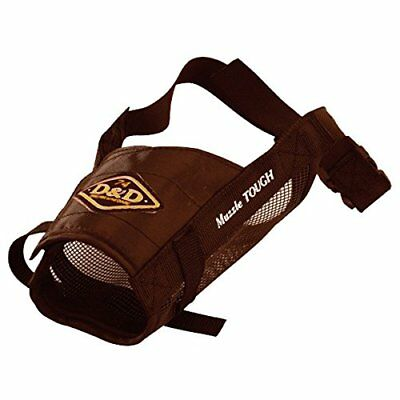 Europet D and D Nylon Dog Muzzle, XX-Large, Brown