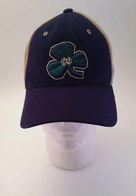 competitive price 54af3 f6ddb Notre Dame University Fighting Irish Cap Hat NCAA ONE FIT Sport College  Domer o