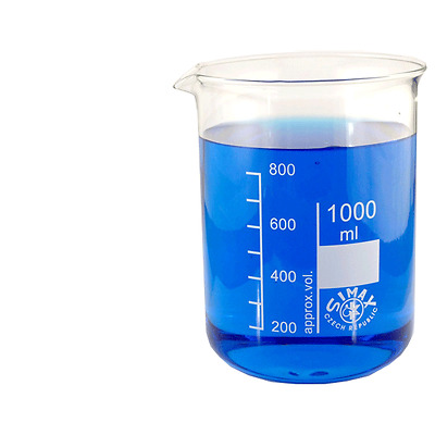 Graduated Low Form Beaker with Spout (SIMAX) 5000ml (5L) *Shipped By Courier*